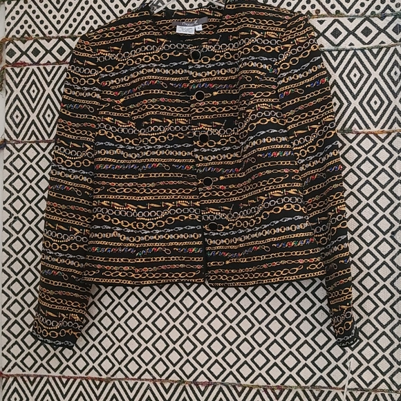 maggy L Jackets & Blazers - NWT Maggy L Black size 4